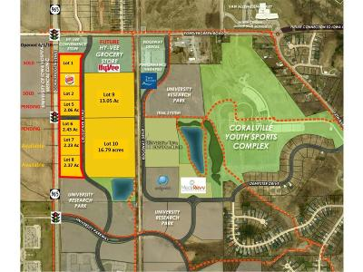 Coralville Residential Lots & Land For Sale: Lot 8 Hwy 965/Forevergreen Rd