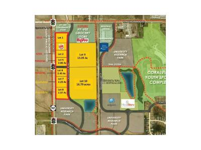 Coralville Residential Lots & Land For Sale: Lot 9/10 Hwy 965/Forevergreen Rd