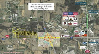 Tiffin Residential Lots & Land For Sale: Lot 1 80/380 Commerce Park