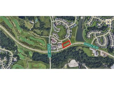 Coralville Residential Lots & Land For Sale: Oakdale Boulevard