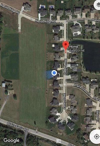 Cedar Rapids Residential Lots & Land For Sale: 4480 Blairs Ferry Road NE