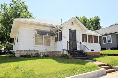 Cedar Rapids IA Single Family Home For Sale: $78,500