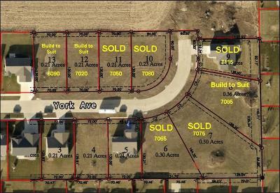 Marion Residential Lots & Land For Sale: Lot 8 Prairie Ridge Estates