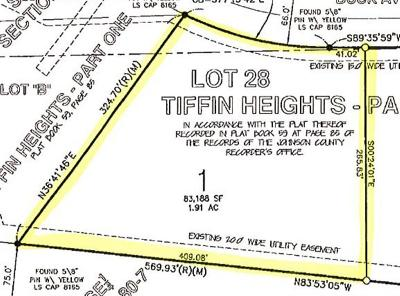 Tiffin Residential Lots & Land For Sale: Lot 1 Tiffin Heights #Part 5