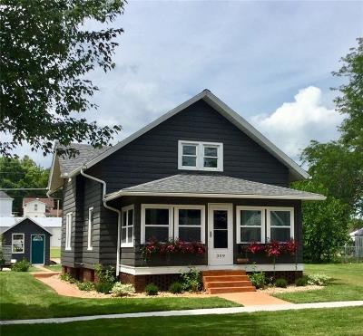 Monticello Single Family Home For Sale: 309 N Cedar Street