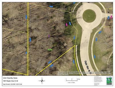 Cedar Rapids Residential Lots & Land For Sale: 1907 Maple View Court SE