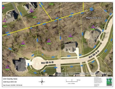 Cedar Rapids Residential Lots & Land For Sale: 4320 Fawn Hll Court SE