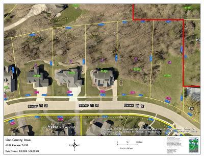 Cedar Rapids Residential Lots & Land For Sale: 4386 Pioneer Trail SE