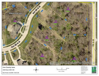 Cedar Rapids Residential Lots & Land For Sale: 4345 Fawn Hill Court SE