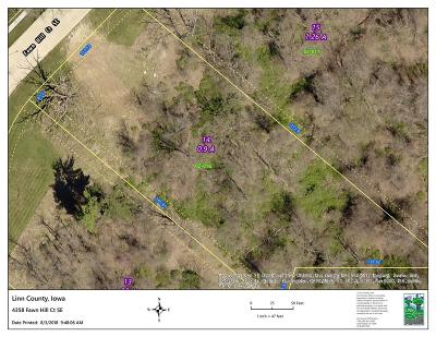 Cedar Rapids Residential Lots & Land For Sale: 4358 Fawn Hill Court SE