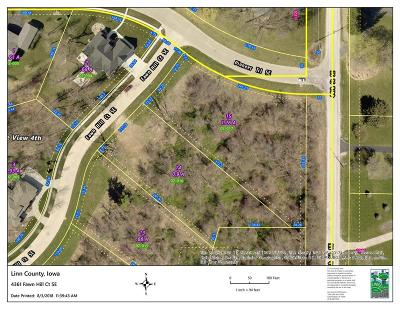 Cedar Rapids Residential Lots & Land For Sale: 4361 Fawn Hill Court SE