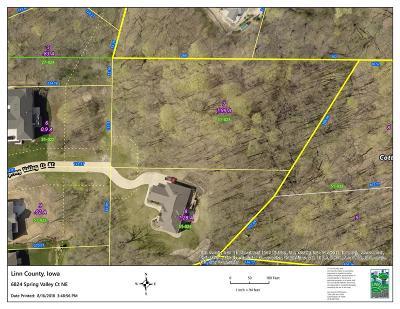 Cedar Rapids Residential Lots & Land For Sale: 6824 Spring Valley Court NE