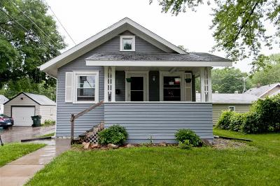 Cedar Rapids IA Single Family Home For Sale: $86,400