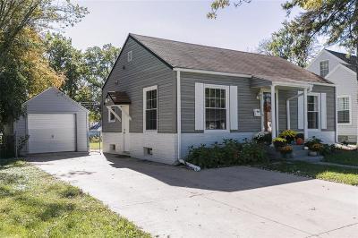 Cedar Rapids Single Family Home For Sale: 1821 Williams Boulevard SW