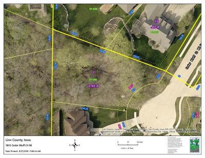Cedar Rapids Residential Lots & Land For Sale: 3815 Cedar Bluff Court NE
