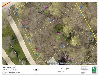 Cedar Rapids Residential Lots & Land For Sale: 4030 Cedar Grove Court NE