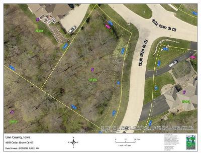 Cedar Rapids Residential Lots & Land For Sale: 4031 Cedar Grove Court NE