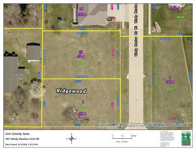 Cedar Rapids Residential Lots & Land For Sale: 4911 Windy Meadow Circle NE
