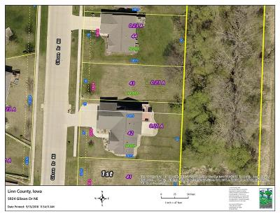 Cedar Rapids Residential Lots & Land For Sale: 5924 Gibson Drive NE