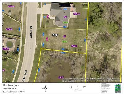Cedar Rapids Residential Lots & Land For Sale: 5912 Gibson Drive NE