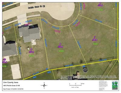 Cedar Rapids Residential Lots & Land For Sale: 4613 Prairie Grass Court NE