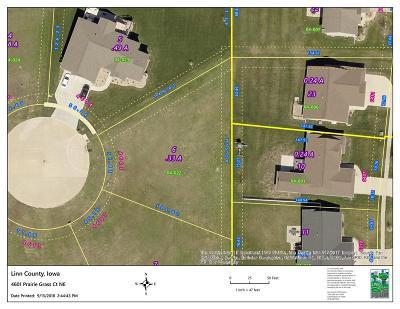 Cedar Rapids Residential Lots & Land For Sale: 4601 Prairie Grass Court NE