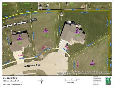 Cedar Rapids Residential Lots & Land For Sale: 4610 Prairie Grass Court NE