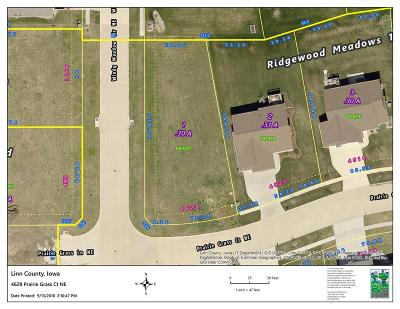 Cedar Rapids Residential Lots & Land For Sale: 4628 Prairie Grass Court NE
