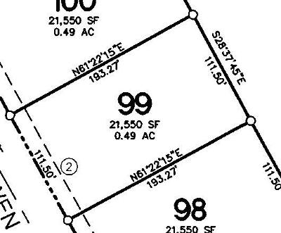 Tiffin Residential Lots & Land For Sale: Lot 99 Tiffin Heights
