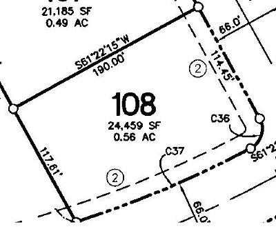 Tiffin Residential Lots & Land For Sale: Lot 108 Tiffin Heights