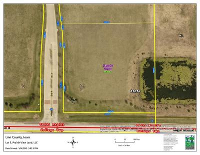 Cedar Rapids Residential Lots & Land For Sale: Lot 5 Prairie View