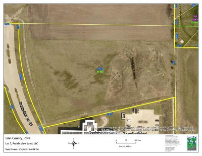 Cedar Rapids Residential Lots & Land For Sale: Lot 7 Prairie View