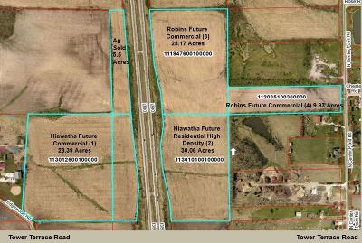 Robins Residential Lots & Land For Sale: Center Point Road 9.93 Acres