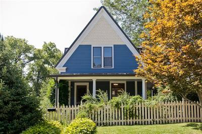 Iowa City Single Family Home For Sale: 1107 E Burlington Street