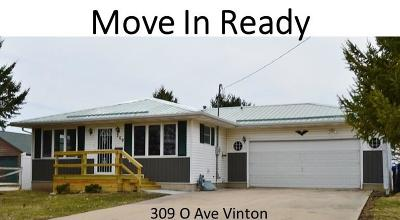 Vinton Single Family Home For Sale: 309 O Avenue