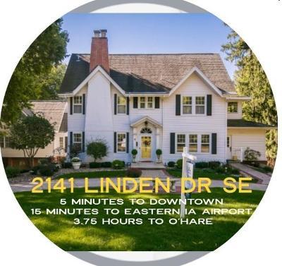 Cedar Rapids Single Family Home For Sale: 2141 Linden Drive SE