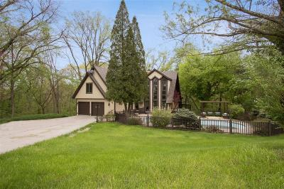 Iowa City Single Family Home For Sale: 2914 Prairie Du Chein Road NE