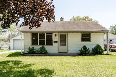 Cedar Rapids Single Family Home For Sale: 1457 Richmond Road NE