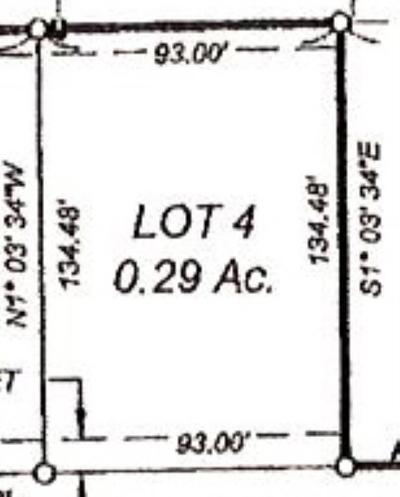 Ely Residential Lots & Land For Sale: Lot 4 Deer Valley #2nd Addi