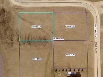 Blairstown IA Residential Lots & Land For Sale: $7,000