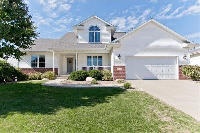 Cedar Rapids Single Family Home For Sale: 3616 Raccoon Ridge Road