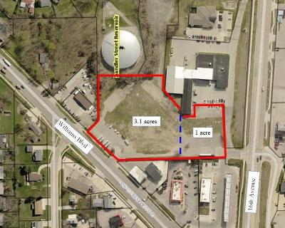 Cedar Rapids Residential Lots & Land For Sale: 2501 Williams Boulevard SW