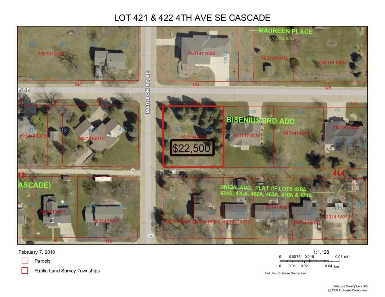 Cascade Iowa Map.Listing Lot 421 422 Se 4th Avenue Cascade Ia Mls 134517
