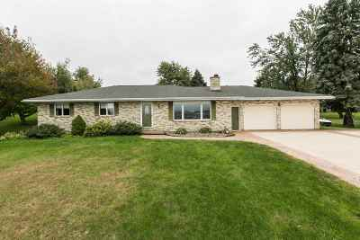 Dubuque Single Family Home For Sale: 13220 N. Cascade Road