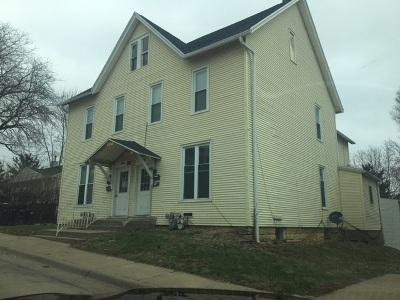 Dubuque Multi Family Home For Sale: 1080/1082 Wilson Street