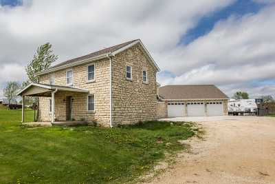 Single Family Home For Sale: 25549 Maple Road
