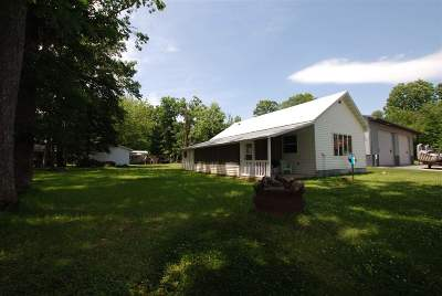 Single Family Home For Sale: 411 White Oak Road