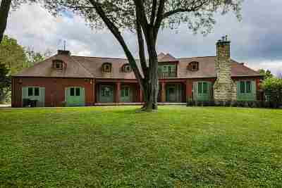 Dubuque IA Single Family Home For Sale: $569,900