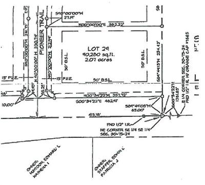 Residential Lots & Land For Sale: Lot 29 Pioneer Trail