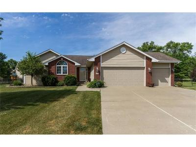 Johnston Single Family Home For Sale: 9900 Enfield Circle